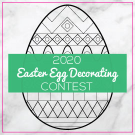 2020 Easter Egg Natural Decorating Contest