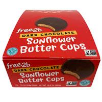 Dark Chocolate Sunflower Butter Cups 24 PK