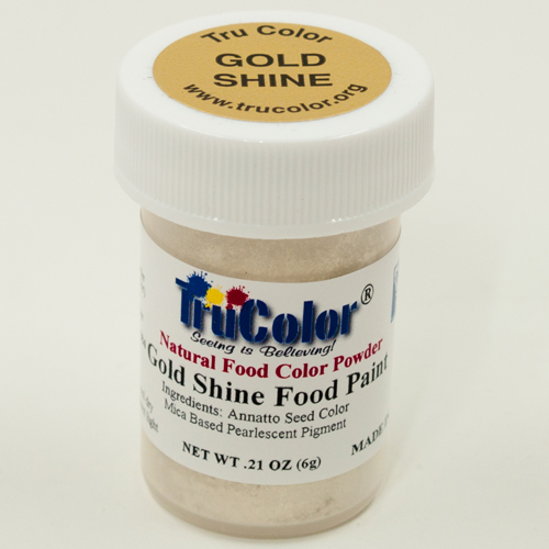 Gold Shine Natural Food Paint