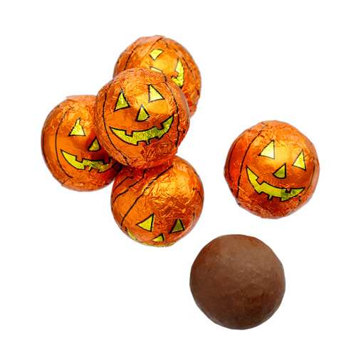 Milk Chocolate Pumpkin Balls