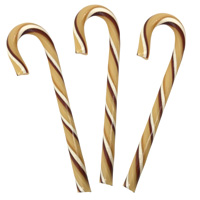 Organic Jumbo Candy Canes - Root Beer