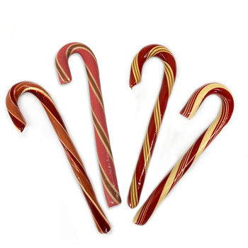 Organic Jumbo Candy Canes - Variety Pack
