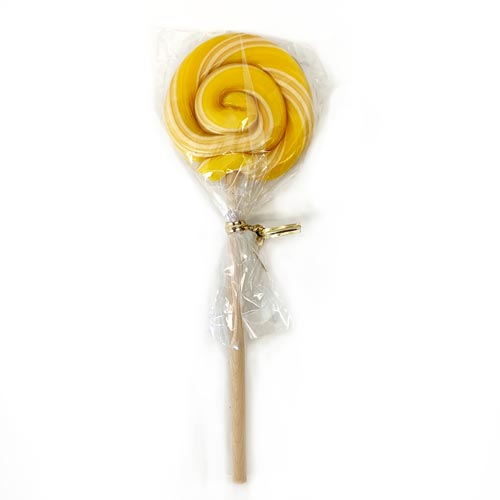 Organic Swirl Lollipop - Lemon