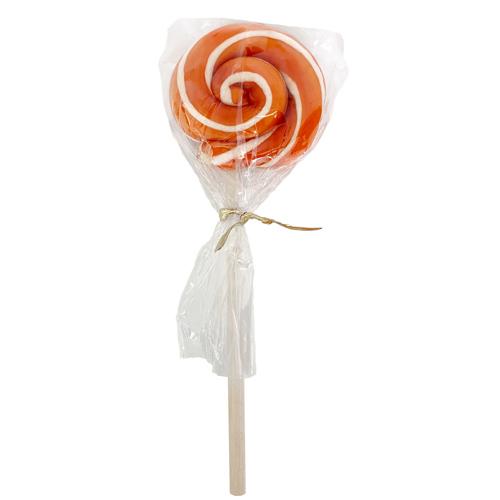 Organic Swirl Lollipop - Orange