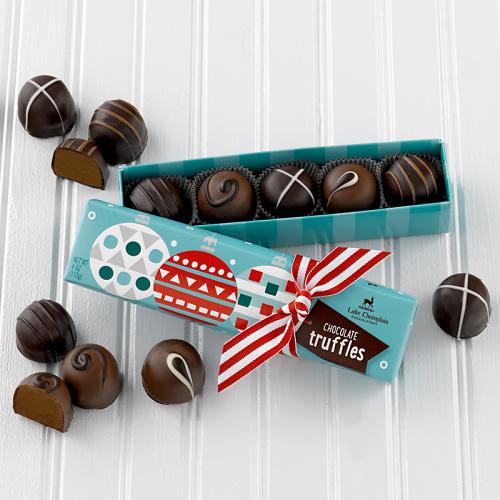 Holiday Fair Trade Chocolate Truffles