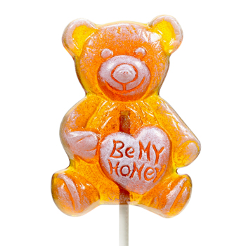 Honey Bear Lollipop