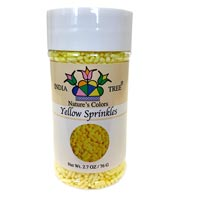Yellow Natural Sprinkles