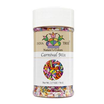 Carnival Mix Natural Sprinkles * 2.7 OZ