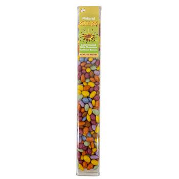 Sunbursts - Natural Candy Coated Sunflower Seeds * 3 OZ Tube
