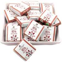 Lake Champlain Organic 80% Dark Chocolate Squares