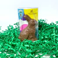 Baby Milk Chocolate Bunny - Organic & Fair Trade