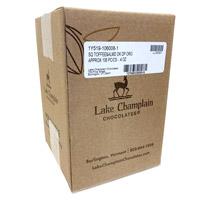 Lake Champlain Organic Dark Chocolate Toffee and Almond Crunch Squares