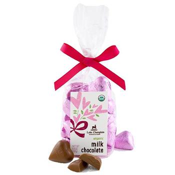 Hearts Gift Bag, Milk Chocolate (21 pc)