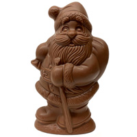 Milk Chocolate Jolly Santa