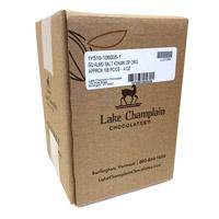 Lake Champlain Organic Milk Chocolate Almonds and Sea Salt Squares