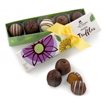 Spring Chocolate Truffles