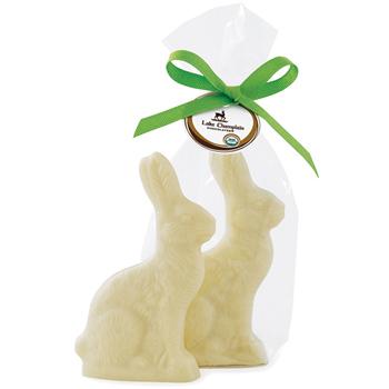 Organic White Chocolate Bunny