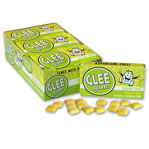 Sugar-Free Glee Gum - Lemon-Lime