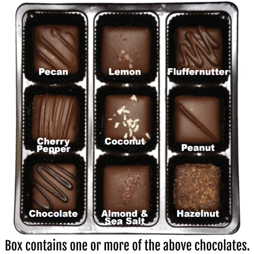 "Vegan ""Milk"" Chocolate Nuts & Chews  * GIFT BOX"