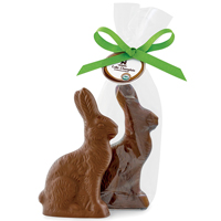 Milk Chocolate Bunny - Organic & Fair Trade