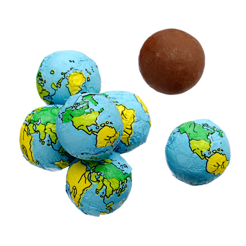 Milk Chocolate Earth Balls