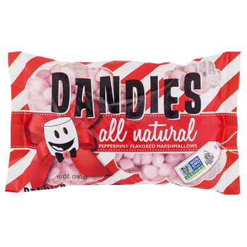 Mini Dandies Vegan Marshmallows - Peppermint