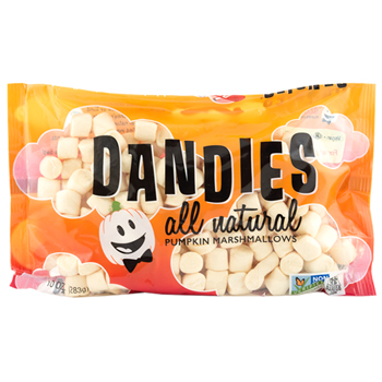 Mini Dandies Vegan Marshmallows - Pumpkin