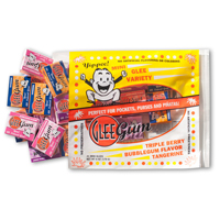 Mini Glee Gum Fruit Flavors