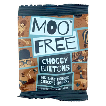 "Moo Free Choccy Buttons ""Milk"""
