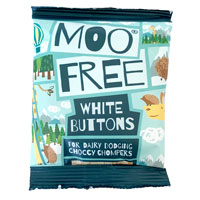 Moo Free Choccy Buttons White