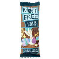 Mini Moo Free Chocolate Bar - Easter Bunny