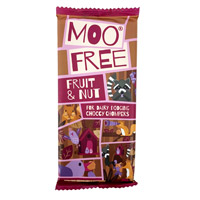 Moo Free Chocolate Bar - Fruit & Nut
