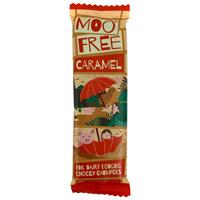 Mini Moo Free Chocolate Bar - Caramel