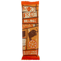 Mini Moo Free Chocolate Bar - Cheeky Orange