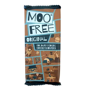 Moo Free Chocolate Bar - Original