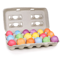 Natural Easter Egg Decorating Colors