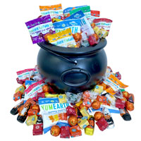 Trick or Treat Party Mix (w/ Chocolate)