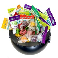 Trick or Treat Party Mix (Vegan)