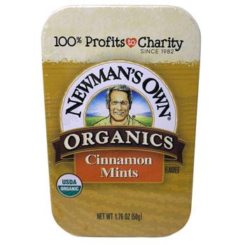 Newman's Own Organic Cinnamon Mints