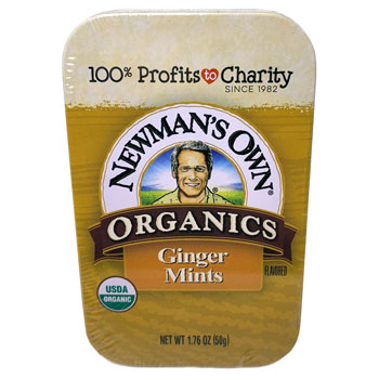 Newman's Own Organic Ginger Mints