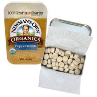 Newman's Own Organic peppermint Mints