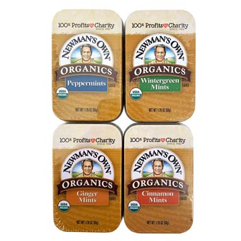 Newman's Own Organic Mint Variety Pack - 4 Flavors