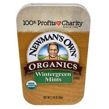 Newman's Own Organic Wintergreen Mints