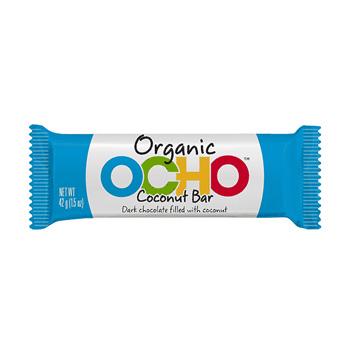 OCHO Organic Candy Bar - Coconut Bar