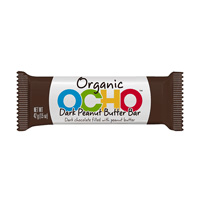 OCHO Organic Candy Bar - Dark Chocolate Peanut Butter