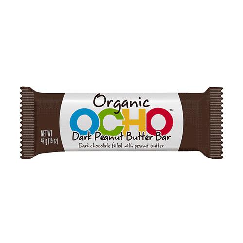 OCHO Organic Candy Bar - Dark Chocolate Peanut Butter