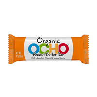 OCHO Organic Candy Bar - Peanut Butter