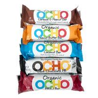 OCHO Organic Candy Bars - Variety Pack