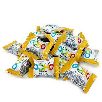Mini OCHO Organic Candy Bars - Caramel