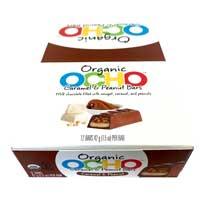 OCHO Organic Candy Bar - Caramel & Peanut 12 pack